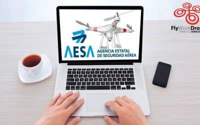 AESA drones y tramitaciones electrónicas