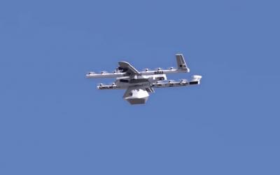 Google convierte la entrega de paquetes con drones en una Realidad.