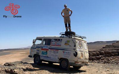 Furgo Raid el desierto en furgoneta!